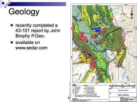 Cushuro Local Geology