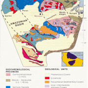 Geological Map of the Amazonian Shield