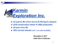 Corporate Presentation November 2017